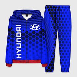 Костюм мужской HYUNDAI ХЕНДАЙ BLUE STYLE цвета 3D-красный — фото 1