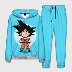 Костюм мужской Sweet Goku цвета 3D-меланж — фото 1