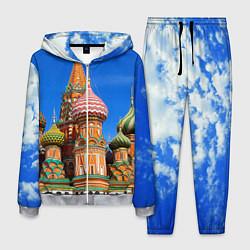 Костюм мужской Храм Василия Блаженного цвета 3D-меланж — фото 1