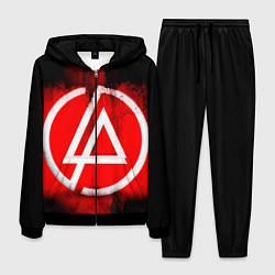 Костюм мужской Linkin Park: Red style цвета 3D-черный — фото 1