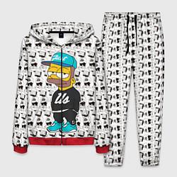 Костюм мужской Bart Just Us цвета 3D-красный — фото 1