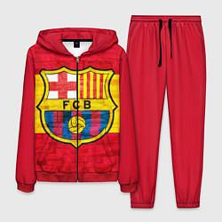 Костюм мужской Barcelona цвета 3D-красный — фото 1