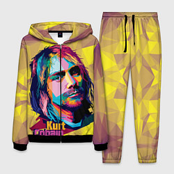 Костюм мужской Kurt Cobain: Abstraction цвета 3D-черный — фото 1