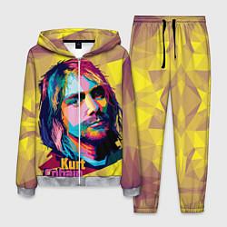 Костюм мужской Kurt Cobain: Abstraction цвета 3D-меланж — фото 1