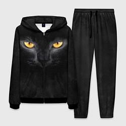 Костюм мужской Черная кошка цвета 3D-черный — фото 1