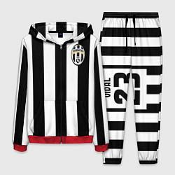 Костюм мужской Juventus: Vidal цвета 3D-красный — фото 1