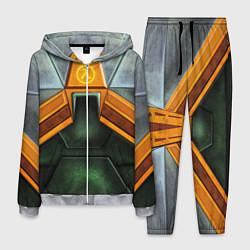 Костюм мужской Gordon Freeman: Costume цвета 3D-меланж — фото 1
