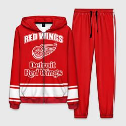 Костюм мужской Detroit red wings цвета 3D-красный — фото 1
