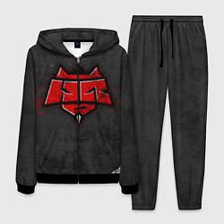 Костюм мужской Hellraisers цвета 3D-черный — фото 1