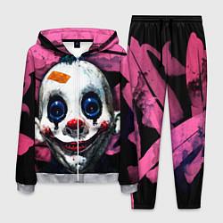 Костюм мужской Клоун цвета 3D-меланж — фото 1
