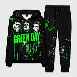 Костюм мужской Green Day: Acid Colour цвета 3D-черный — фото 1