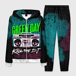 Костюм мужской Green Day: Kill the DJ цвета 3D-белый — фото 1