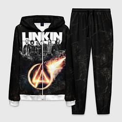 Костюм мужской Linkin Park: Comet цвета 3D-белый — фото 1