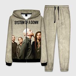 Костюм мужской System of a Down цвета 3D-черный — фото 1