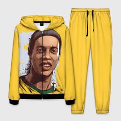 Костюм мужской Ronaldinho Art цвета 3D-черный — фото 1