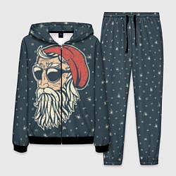 Костюм мужской Санта хипстер цвета 3D-черный — фото 1
