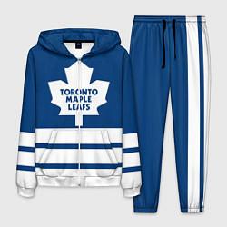 Костюм мужской Toronto Maple Leafs цвета 3D-белый — фото 1