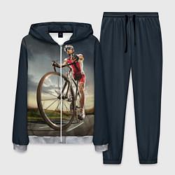 Костюм мужской Велогонщик цвета 3D-меланж — фото 1