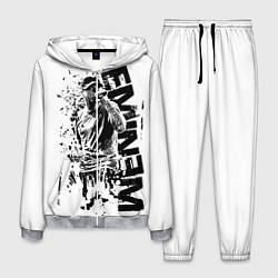 Костюм мужской Eminem Rap цвета 3D-меланж — фото 1