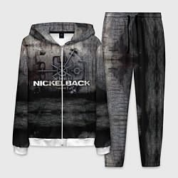 Костюм мужской Nickelback Repository цвета 3D-белый — фото 1