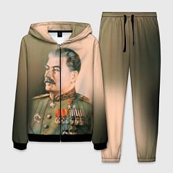 Костюм мужской Иосиф Сталин цвета 3D-черный — фото 1