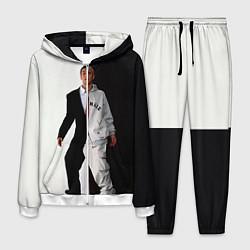 Костюм мужской Eminem: Black & White цвета 3D-белый — фото 1