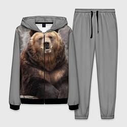 Костюм мужской Русский медведь цвета 3D-черный — фото 1