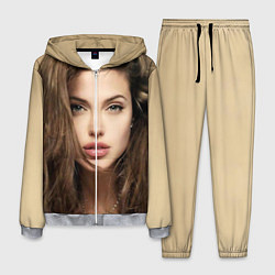 Костюм мужской Анжелина Джоли цвета 3D-меланж — фото 1