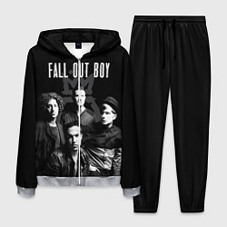 Костюм мужской Fall out boy band цвета 3D-меланж — фото 1