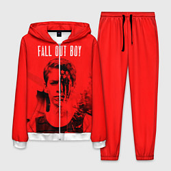 Костюм мужской FOB: Red USA цвета 3D-белый — фото 1