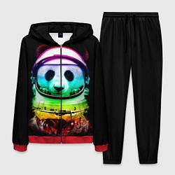 Костюм мужской Панда космонавт цвета 3D-красный — фото 1