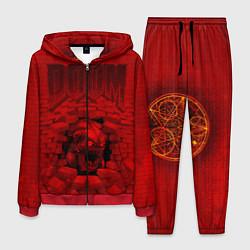 Костюм мужской DOOM: Monster цвета 3D-красный — фото 1