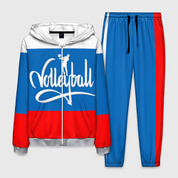 Костюм мужской Волейбол 27 цвета 3D-меланж — фото 1