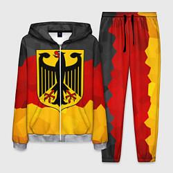 Костюм мужской Германия: герб цвета 3D-меланж — фото 1