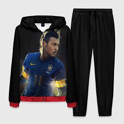 Костюм мужской Neymar: Brasil Team цвета 3D-красный — фото 1