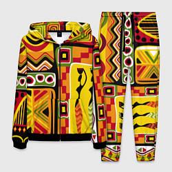Костюм мужской Африка цвета 3D-черный — фото 1