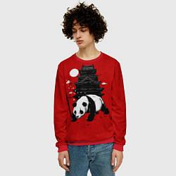 Свитшот мужской Panda Warrior цвета 3D-красный — фото 2