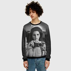 Свитшот мужской Lana Photographer цвета 3D-черный — фото 2