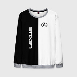 Мужской свитшот Lexus: Black & White
