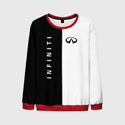 Мужской свитшот Infiniti: Black & White