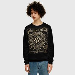 Свитшот мужской Machine Head цвета 3D-черный — фото 2