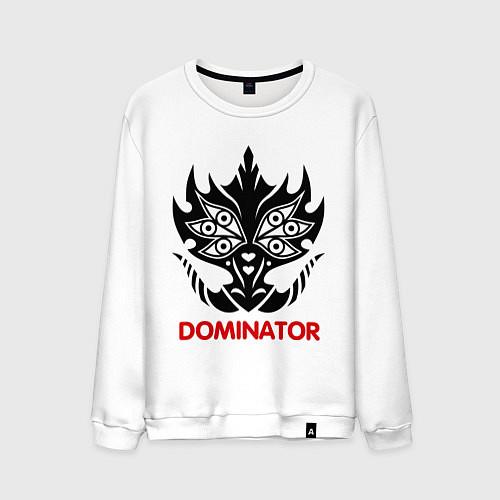 Мужской свитшот Orc Mage - Dominator / Белый – фото 1