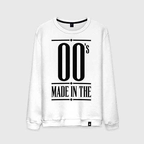Мужской свитшот Made in the 00s / Белый – фото 1