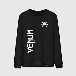 Свитшот хлопковый мужской VENUM цвета черный — фото 1
