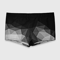 Мужские плавки Abstract gray цвета 3D — фото 1