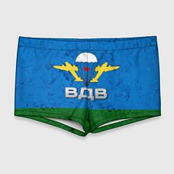 Мужские плавки Флаг ВДВ цвета 3D — фото 1