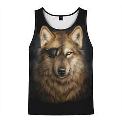 Майка-безрукавка мужская Морской волк цвета 3D-черный — фото 1