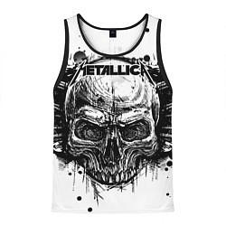 Майка-безрукавка мужская Metallica цвета 3D-черный — фото 1