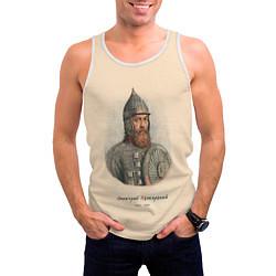 Майка-безрукавка мужская Дмитрий Пожарский 1578-1642 цвета 3D-белый — фото 2