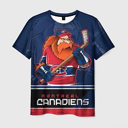 Футболка мужская Montreal Canadiens цвета 3D — фото 1